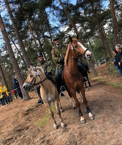 Militaire Prestatietocht Te Paard